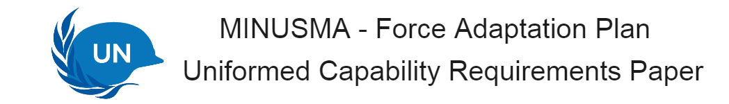 Uniformed Capability Requirements Paper